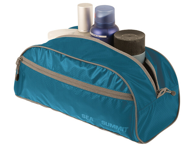 Sea to Summit Toiletry Bag L, blue/grey